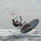 Ruben Lansley Windsurfing